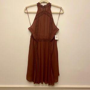 NWT FP Intimately Free People Slip halter Dress M